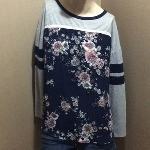Women's Maurice's floral top
